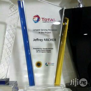 Crystal Awards With Sublimation Printing | Arts & Crafts for sale in Lagos State, Shomolu