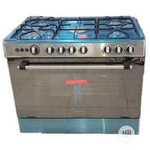 Midea 5 Burners Standing Gas Cooker 90 X 60 | Kitchen Appliances for sale in Lagos State, Ikeja