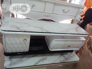Portable Adjustable Tv Stand With Center Table | Furniture for sale in Lagos State, Ikeja