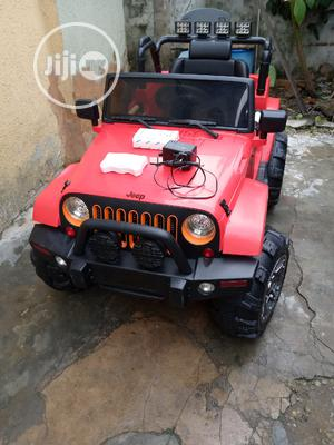 Uk Used Licensed 12 Volts Jeep Wrangler With Remote Control   Toys for sale in Lagos State, Surulere