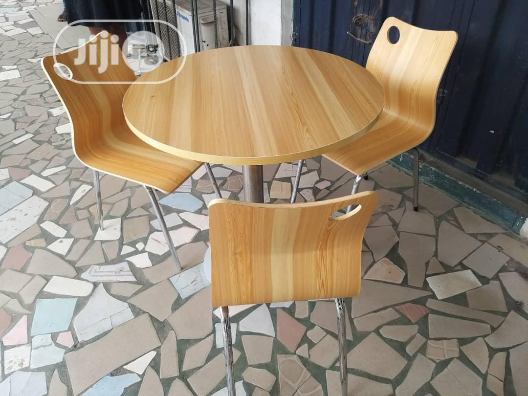 Archive: Very Unique Restaurant/Dinning Table With 4 Chairs