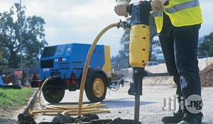 Mobile Air Compressor With Jackhammer | Vehicle Parts & Accessories for sale in Lagos State, Ojo