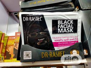 Dr-rashel Black Facial Mask Collagen & Charcoals | Skin Care for sale in Lagos State, Amuwo-Odofin