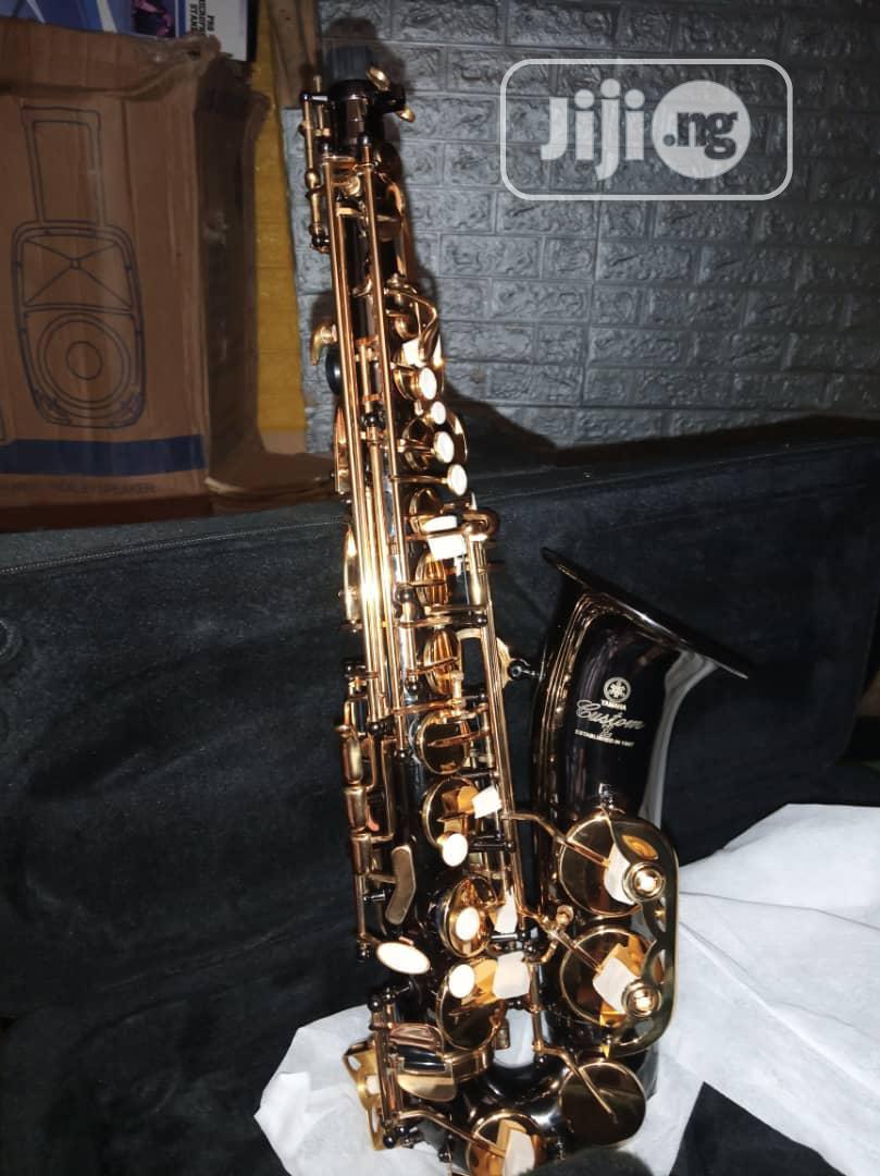 Original Prof Yamaha Alto Saxophone, Black and Gold Colour