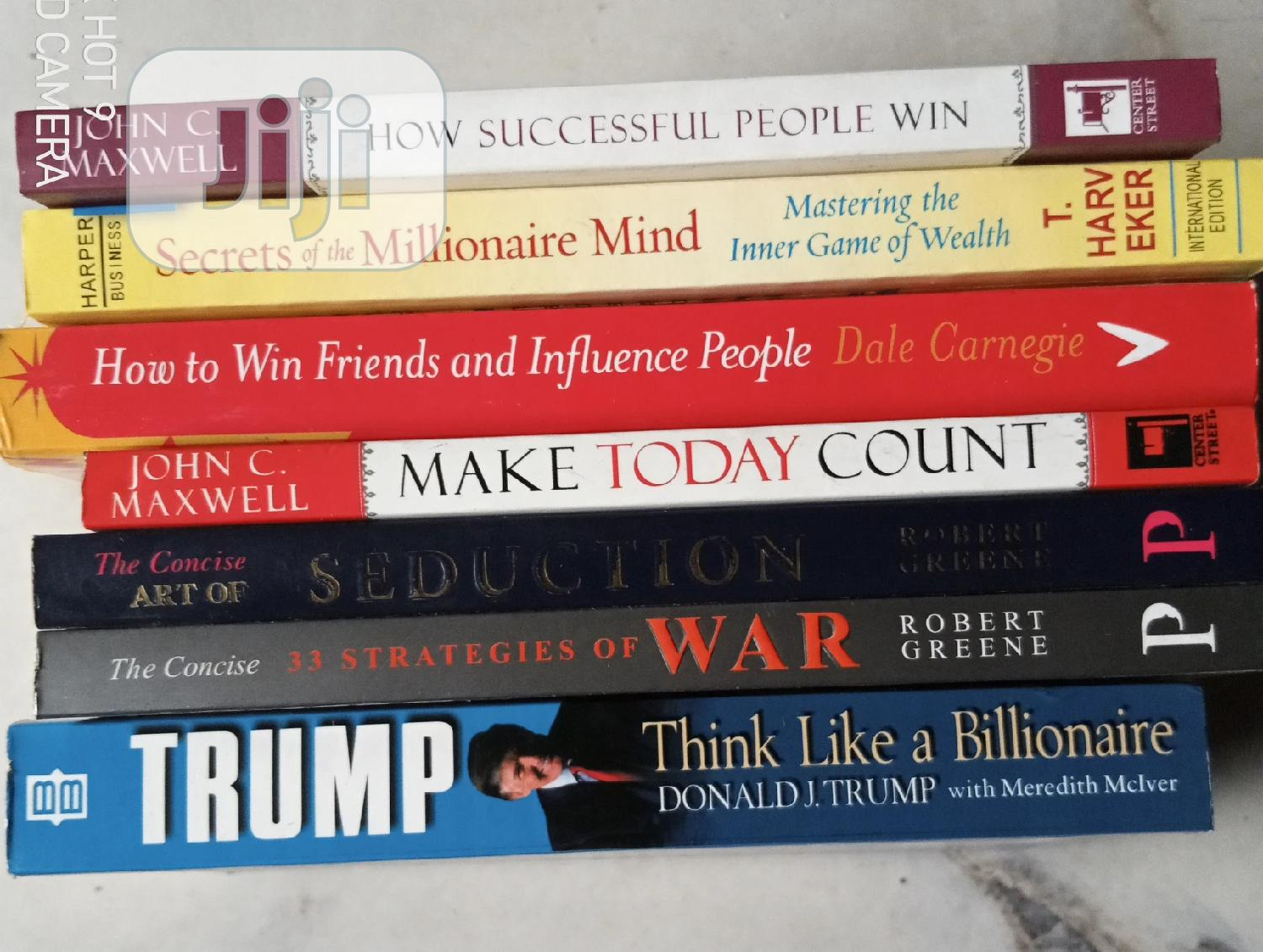 Seven Collection of Self Help Books