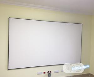 """Electric Projector Screen 96"""" X 96""""   TV & DVD Equipment for sale in Lagos State, Ikeja"""