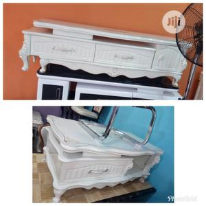 Imported Royal Adjustable Tv Stand With Center Table | Furniture for sale in Lagos State, Ikeja