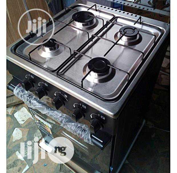 New Midea 4gas Burners Oven 50 by 50 Blue Flame Warranty