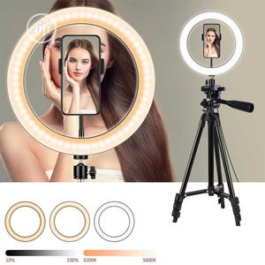 """Ring Light + Tripod Stand + Phone Holder 10"""" Ring Light 