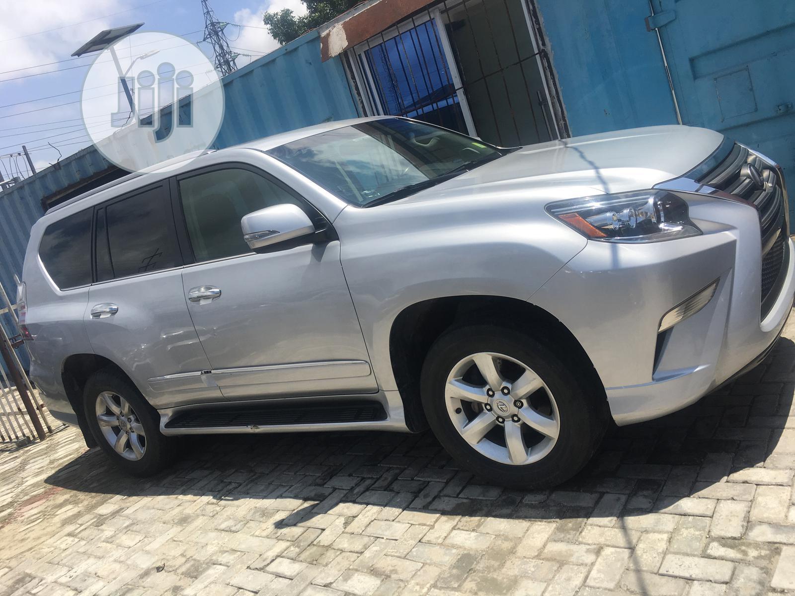 Lexus GX 2014 460 Luxury Silver   Cars for sale in Lekki, Lagos State, Nigeria