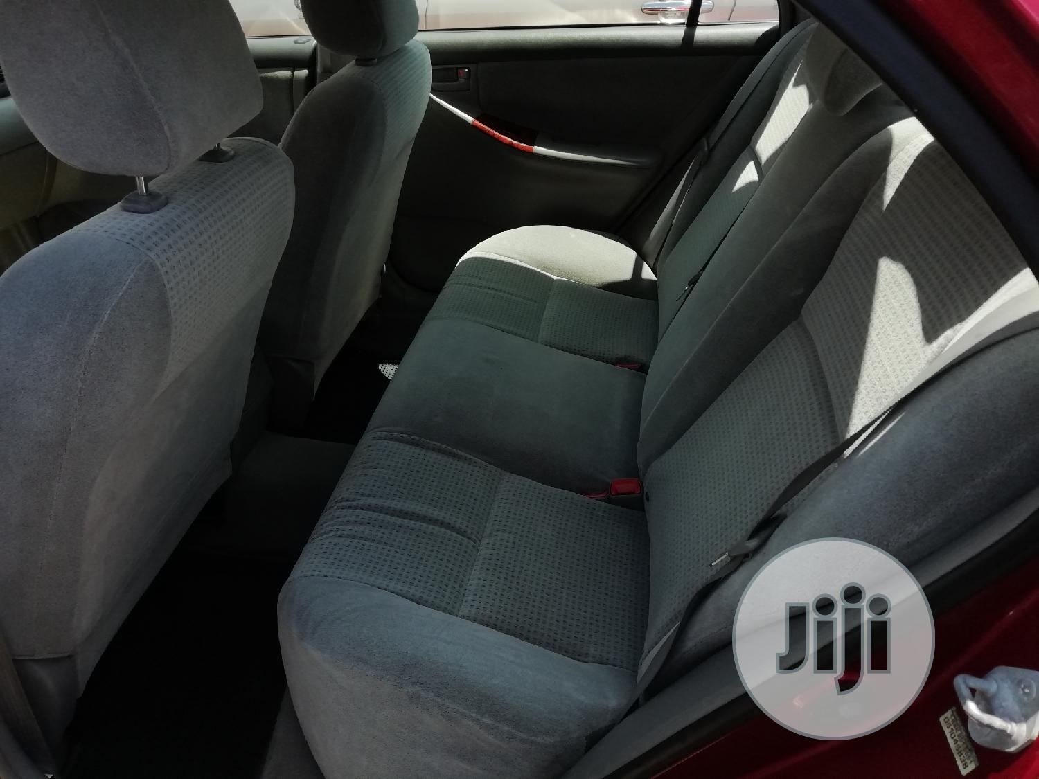 Toyota Corolla 2005 LE Red   Cars for sale in Apapa, Lagos State, Nigeria