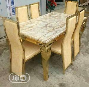 Good Quality Dining Table Gold Color | Furniture for sale in Lagos State, Ikorodu
