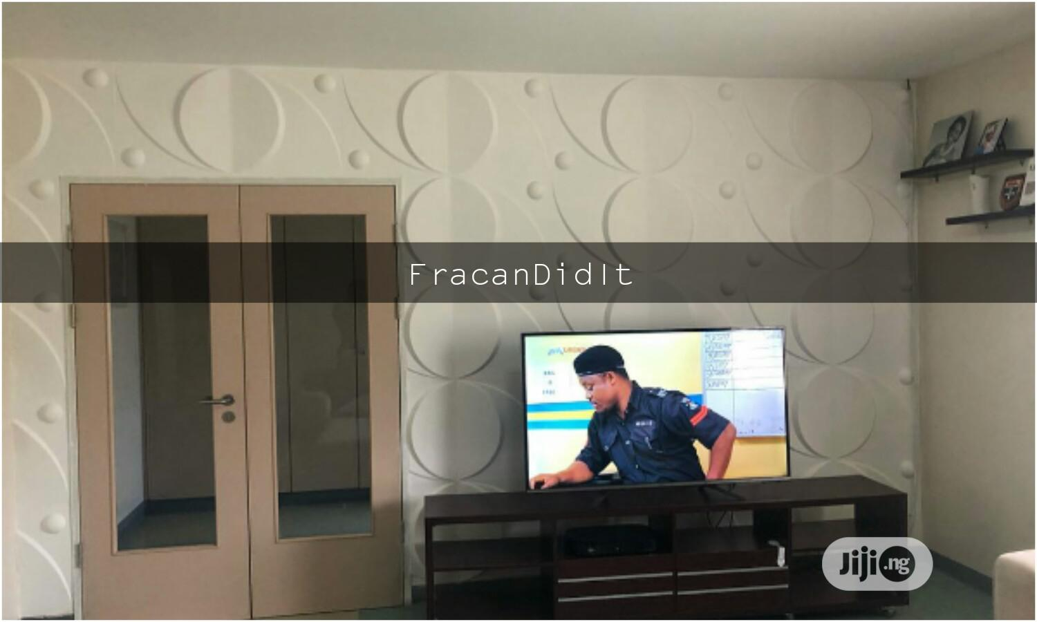 Projected 3D Panel Designs. Fracan Wallpaper Ltd Abuja | Home Accessories for sale in Maitama, Abuja (FCT) State, Nigeria