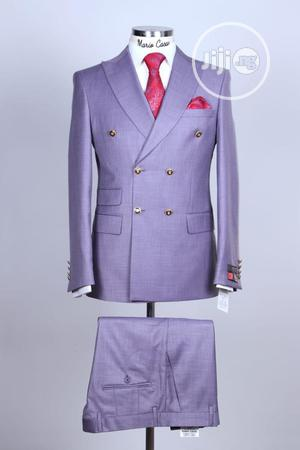 Lilac Double Breasted Suit   Clothing for sale in Lagos State, Lagos Island (Eko)
