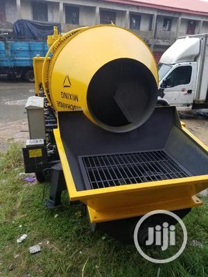 Mobile Concrete Mixer With Concrete Pump | Heavy Equipment for sale in Lagos State, Lagos Island (Eko)