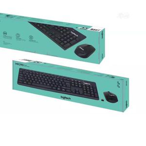 Logitech Mk290 Wireless Keyboard Mouse Combo – Black | Computer Accessories  for sale in Lagos State, Ikeja