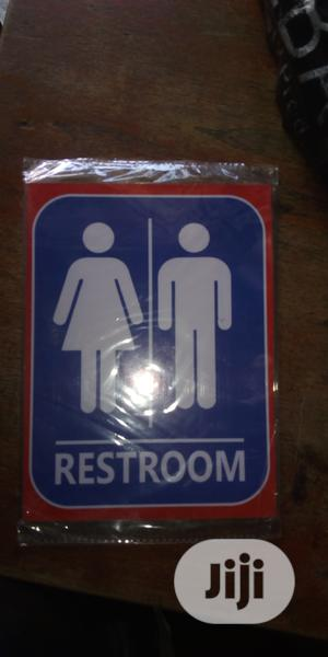 Rest Room Signage. | Safetywear & Equipment for sale in Lagos State, Orile
