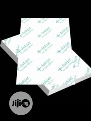 Inkjet Transfer Paper Red Grid For White Shirt   Printing Equipment for sale in Lagos State, Ikeja