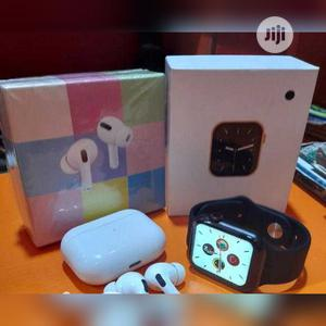 Smartwatch Series 6 Full Screen Plus Airpod Pro   Smart Watches & Trackers for sale in Lagos State, Ikeja
