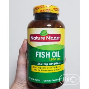 Nature Made Fish Oil 1200 Mg (360 Mg Omega-3) 300 Liquid Sof | Vitamins & Supplements for sale in Lagos State, Amuwo-Odofin