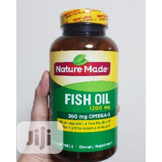 Nature Made Fish Oil 1200 Mg (360 Mg Omega-3) 300 Liquid Sof