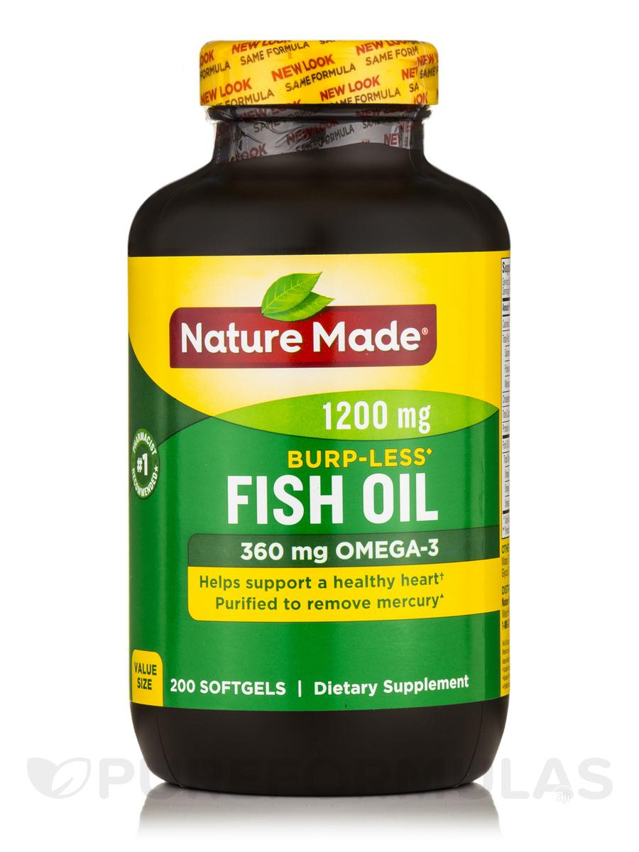Nature Made Fish Oil 1200 Mg (360 Mg Omega-3) 300 Liquid Sof   Vitamins & Supplements for sale in Amuwo-Odofin, Lagos State, Nigeria