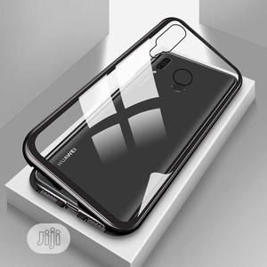 Magnetic Case for Huawei Y9(2019),Clear Tempered Glass Back | Accessories for Mobile Phones & Tablets for sale in Lagos State, Ikeja