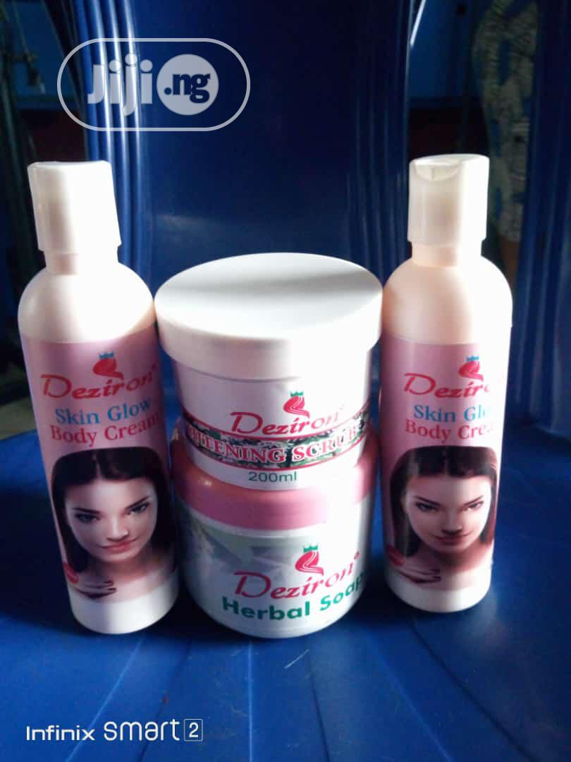 Archive: Deziron Skin Glow Organic Cream,Scrub, Treatment Herbal Soap