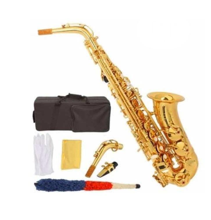 Premier England Alto Professional Saxophone Gold