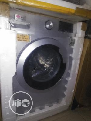 LG 10kg Auto Washing Spinning Machine With 2yrs Wrnty. | Home Appliances for sale in Lagos State, Ojo