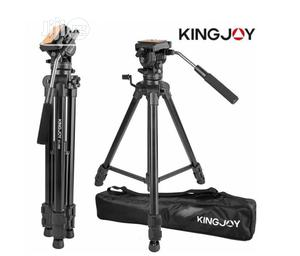 Kingjoy VT 1500 Professional Camera Tripod Stand | Accessories & Supplies for Electronics for sale in Lagos State, Ikeja