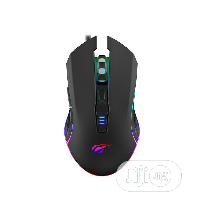 Havit MS1006 RGB Black Wired Gaming Mouse