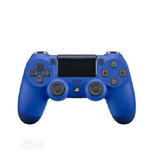 Sony Blue PS4 Dual Shock 4 Playstation 4 Controller | Accessories & Supplies for Electronics for sale in Lagos State, Ikeja