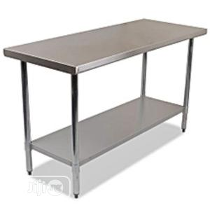 Very Strong Quality Stainless Work Table   Restaurant & Catering Equipment for sale in Lagos State, Amuwo-Odofin