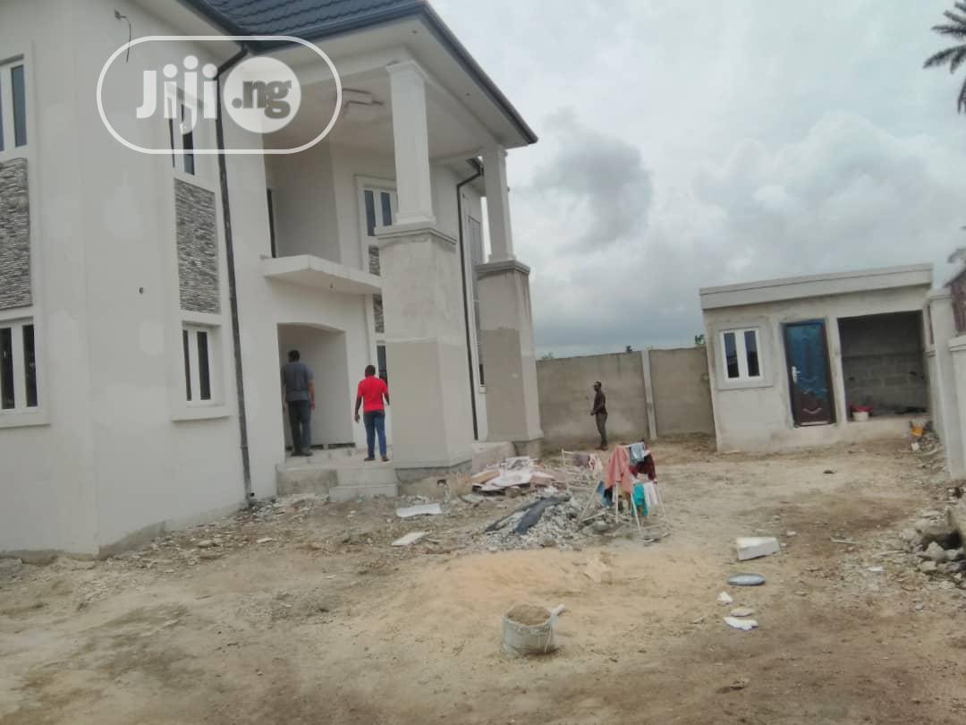 Newly Build 7bedroom Duplex With Good Light In Iguruta PH