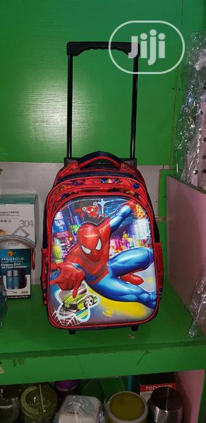 Spider Man Trolley School Bag | Babies & Kids Accessories for sale in Lagos State, Isolo