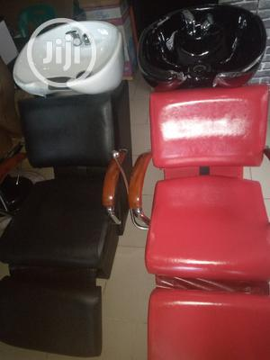 Saloon Chair With Washing Bazen   Furniture for sale in Lagos State, Lekki