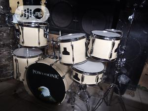 Power Sonic Professional Drum 7 Set With Stand | Musical Instruments & Gear for sale in Lagos State, Ikeja