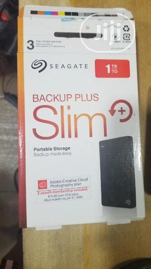 Seagate 1tb External Hard Drive, Back Up Plus Slim. | Computer Hardware for sale in Lagos State, Ikeja