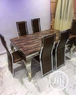 Good Quality Dining Table Mable Top | Furniture for sale in Lagos State, Ojo