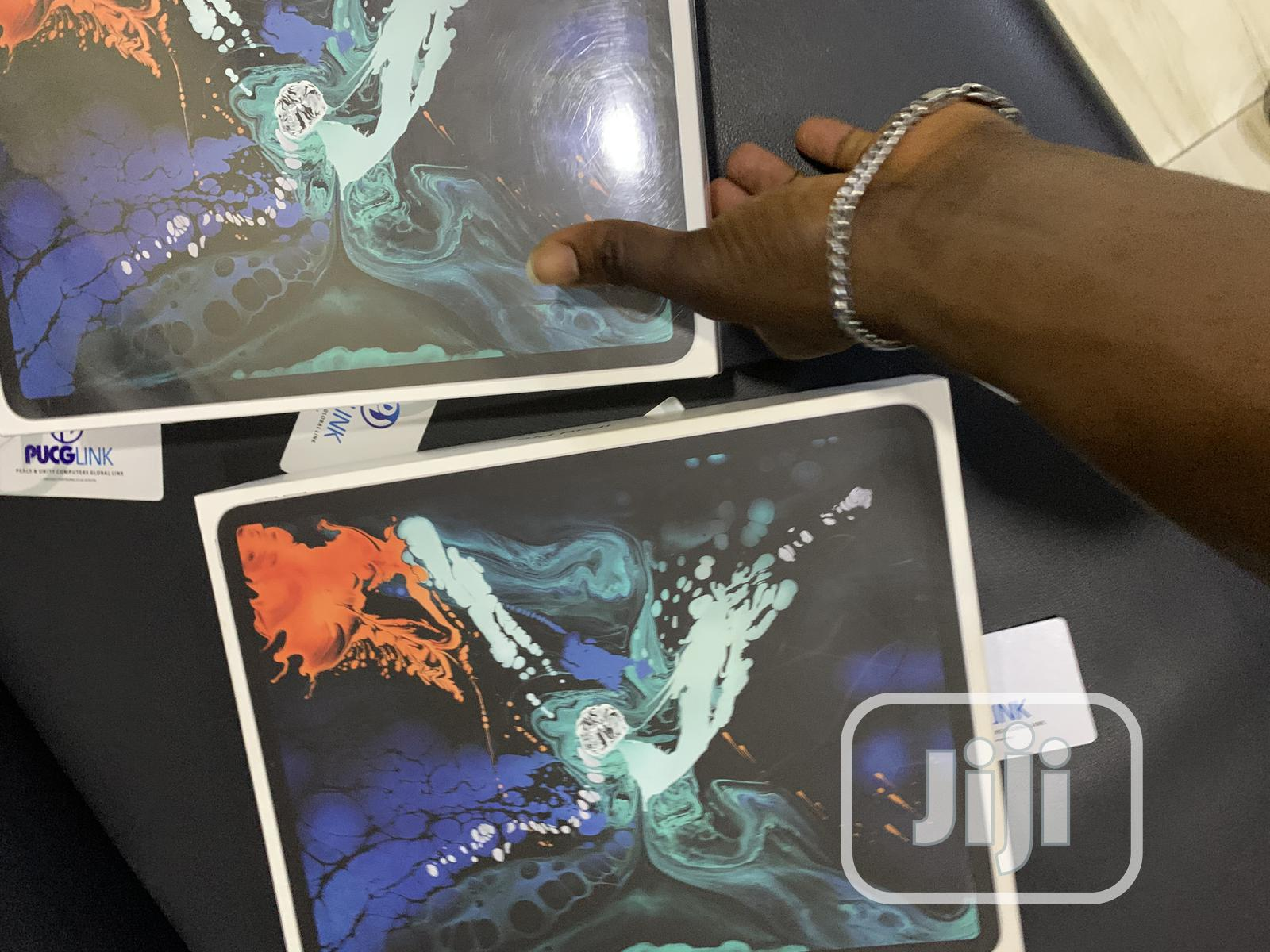 New Apple iPad Pro 12.9 (2018) 64 GB Silver   Tablets for sale in Ikeja, Lagos State, Nigeria