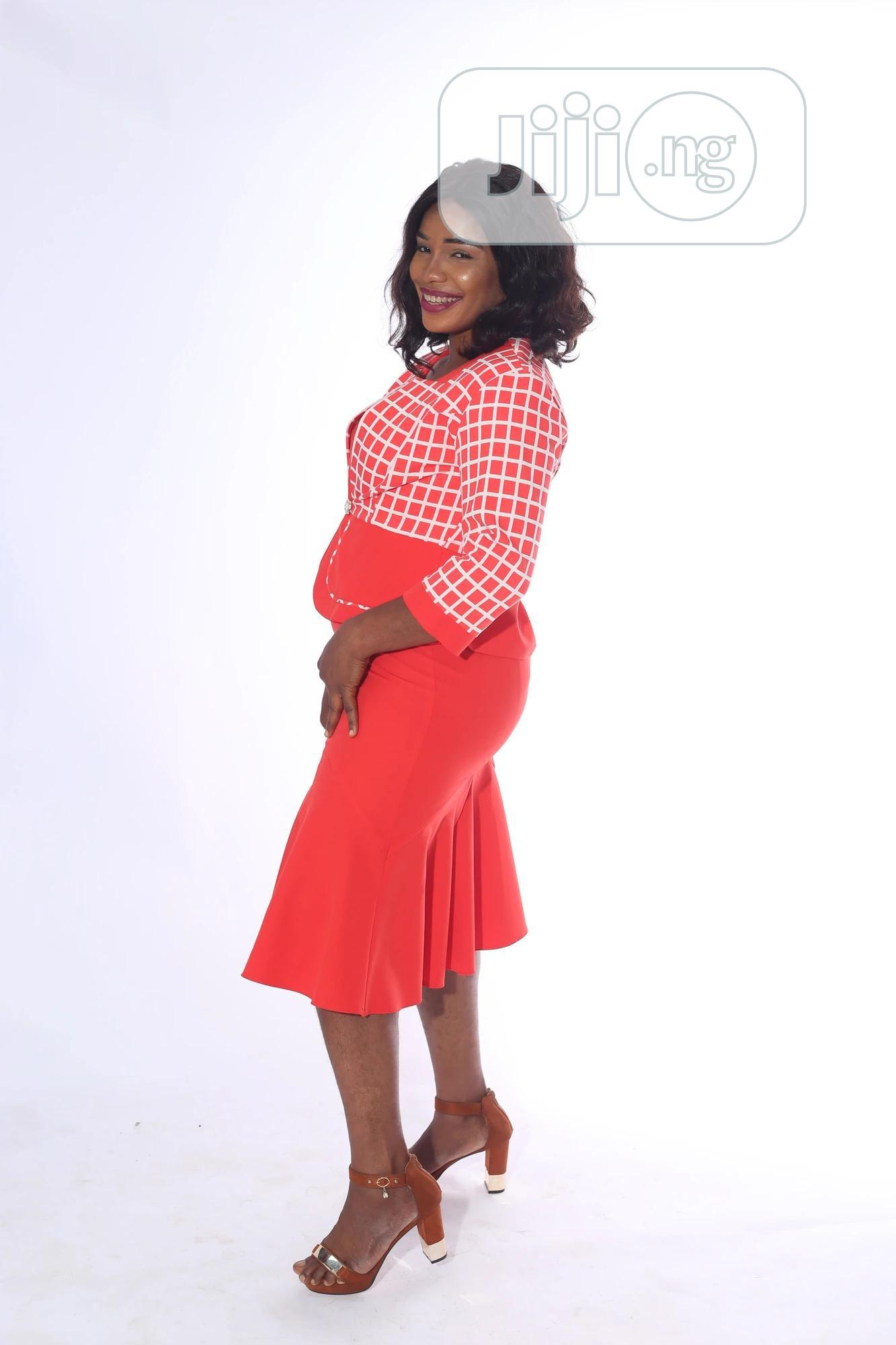 Quality Female Dress With Jacket | Clothing for sale in Alimosho, Lagos State, Nigeria
