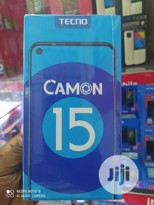 New Tecno Camon 15 64 GB Gold   Mobile Phones for sale in Lagos State, Ikeja