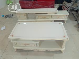 Imported Adjustable Tv Stand With Center Table | Furniture for sale in Lagos State, Ikeja