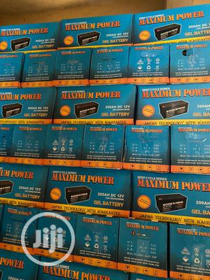 12v 200ah Mazimum Power Battery | Electrical Equipment for sale in Lagos State, Ojo