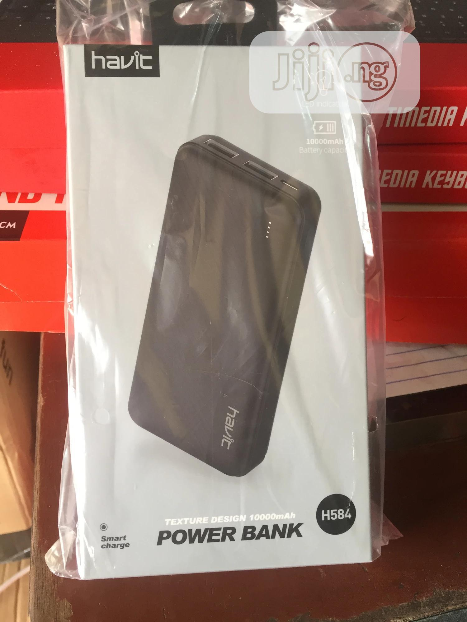 Havit 10000mah Power Bank - H584   Accessories for Mobile Phones & Tablets for sale in Ikeja, Lagos State, Nigeria