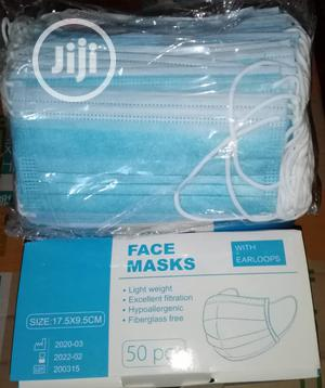 3 Ply High Quality Face Mask 50pcs (Wholesale & Retail)   Medical Supplies & Equipment for sale in Lagos State, Ikeja