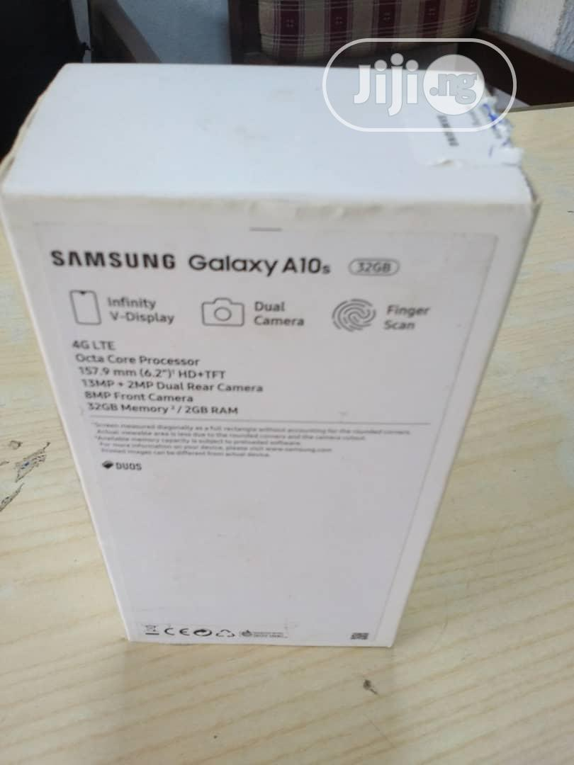 New Samsung Galaxy A10s 32 GB Black   Mobile Phones for sale in Ikeja, Lagos State, Nigeria