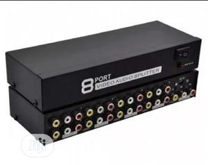 8 Ports Audio Video AV Splitter | Accessories & Supplies for Electronics for sale in Lagos State, Ikeja