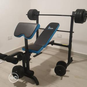 Weight Bench With 50kg   Sports Equipment for sale in Lagos State, Surulere